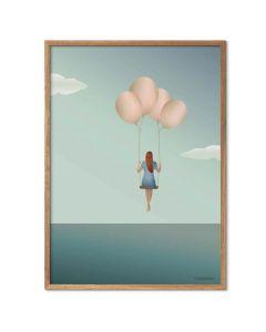 ViSSEVASSE Plakat - Balloon Dream