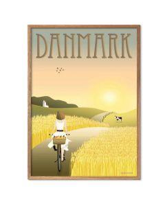 ViSSEVASSE Plakat - Danmark Markerne