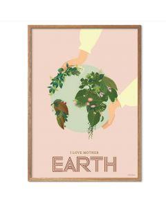 ViSSEVASSE Plakat - I Love Mother Earth