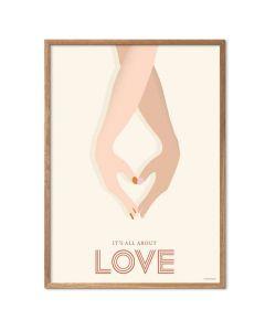 ViSSEVASSE Plakat - It's All About Love