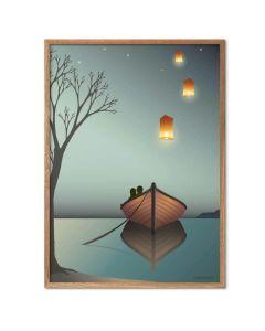 ViSSEVASSE Plakat - Lanternerne