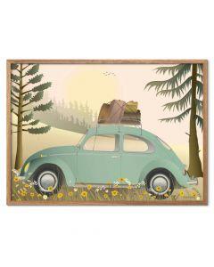 ViSSEVASSE Plakat - VW Beetle 2