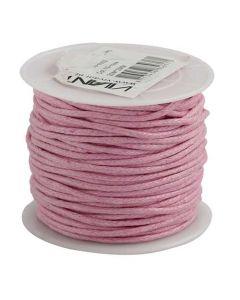 Vivant Bomuldssnor 20m - lyserød