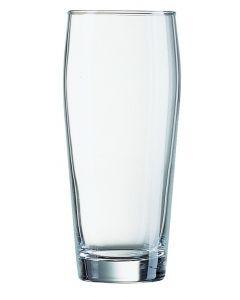 Willi Becher glas